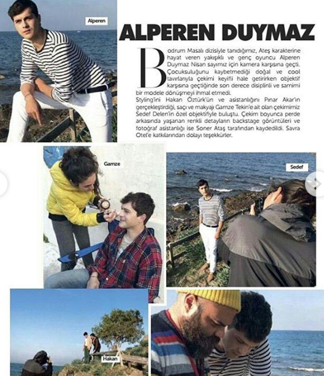Alperen Duymaz Bestyle Dergisi Nisan Sayısında